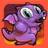 Run Dragon Baby - Free Jump Lava for Magic Gems Edition