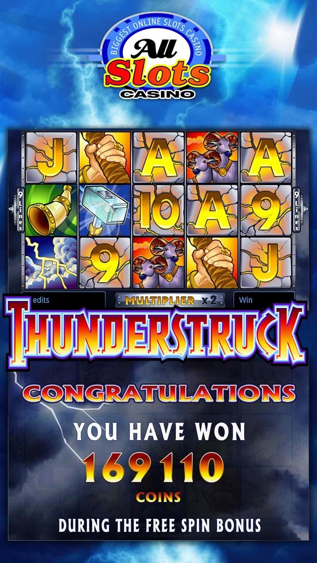 All slots casino pokies