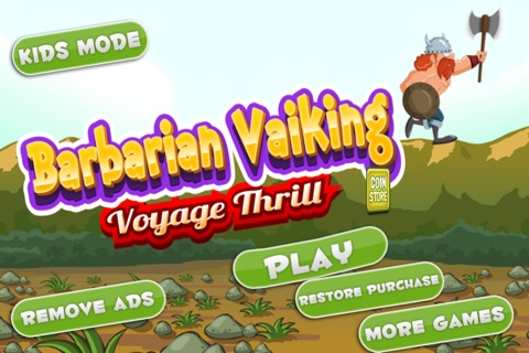 Barbarian vaiking voyage thrill screenshot 1