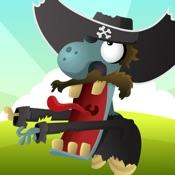 Pirates VS Zombies - Defend the Golden Treasure Island Against Zombie Tsunami