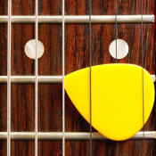 Guitar Chords - 6 string guitar with fretboard and chord learning tool icon