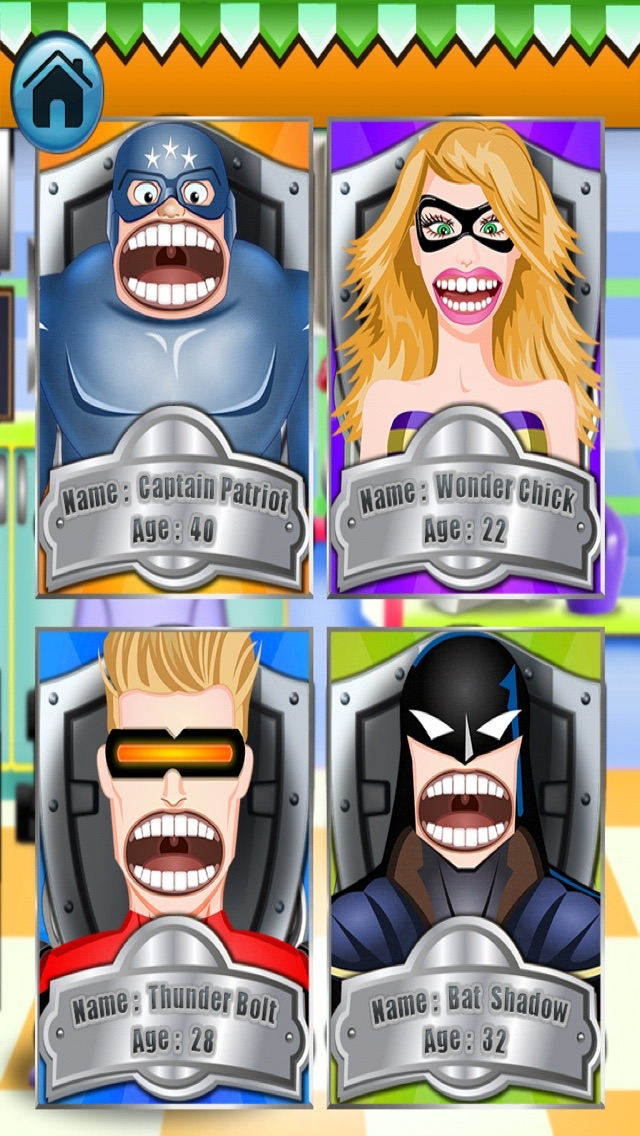 A Superhero Dentist - 自由のための歯科医師、医師ゲームのおすすめ画像5
