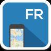 France carte en ligne, guide, météo, hôtels. La liberté de navigation.