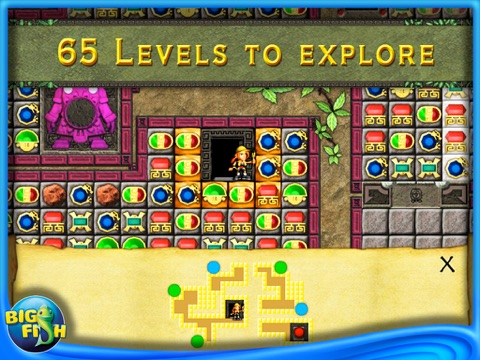Jewels of cleopatra 2 aztec mysteries hd a match 3 for Big fish games inc