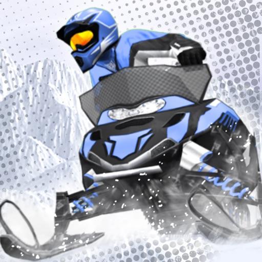 雪地摩托赛:Snow Moto Racing【杂技赛车】