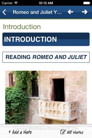 Romeo and Juliet York Notes Advanced screenshot 3