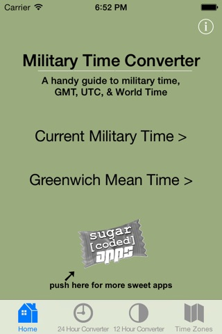 Military Time Converter screenshot 1