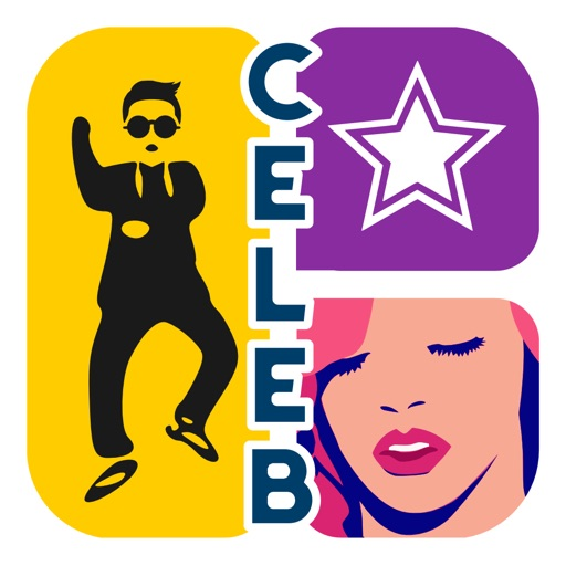 Icon Celebrities Quiz - A color mania celebrity game to hi guess who's that pop song celeb star