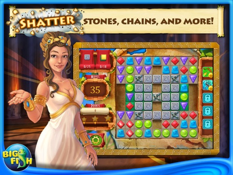Greek Gems - A Collapse Game-ipad-1