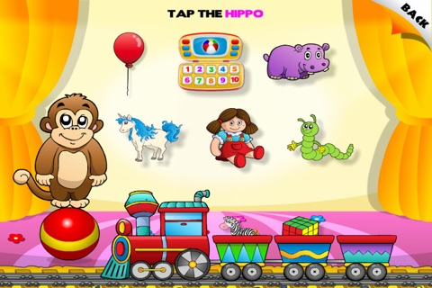Toys Train • Kids Love Learning Toys: Fun Interactive Adventure Game with Animals, Cars, Trucks and more Vehicles for Children (Baby, Toddler, Preschool) by Abby Monkey® screenshot 1
