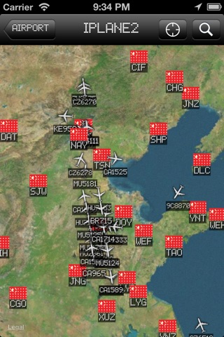 iPlane 2 - Flight Info + Status + Radar Tracker screenshot 2