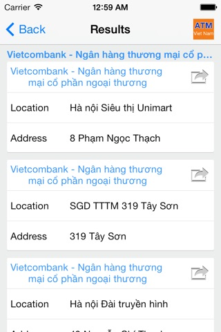 ATM Viet Nam screenshot 4
