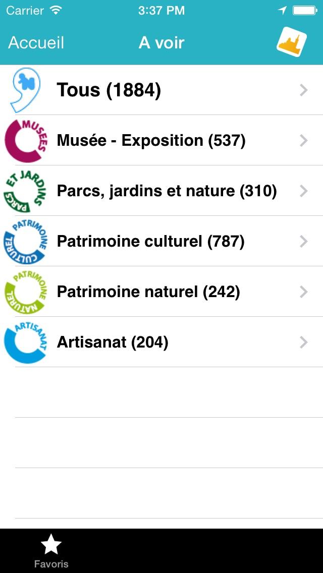 Click 'n Visit - Marseille CalanquesCapture d'écran de 2