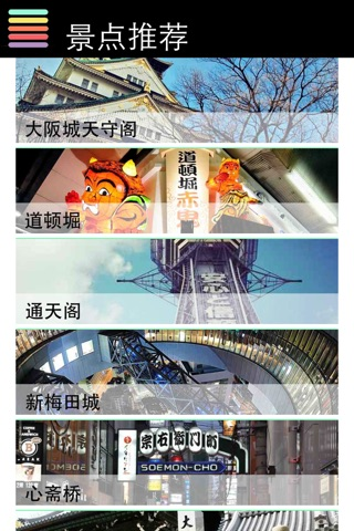 京都 大阪 神户离线地图地铁旅游交通指南 screenshot 3