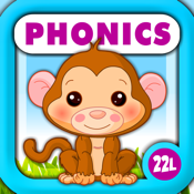 Phonics Island Adventure · Early Reading Montessori Learning School Activities A to Z (Letter Sounds, Alphabet Flash Cards Game, Phonics Quiz & Recognition) with Animals Train for Kids Explorers (Toddler, Preschool and Kindergarten) by Abby Monkey® icon