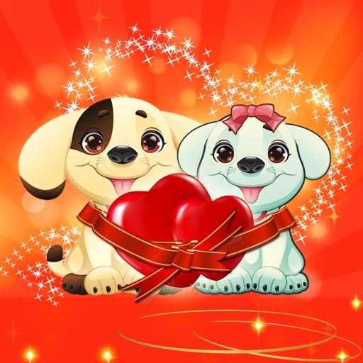 Puppy Jump Valentine iOS App