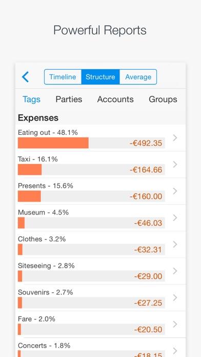 Expenses and Income - CashTrails Screenshot 2