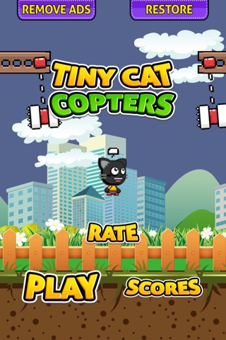 Tiny Cat Copters screenshot 1