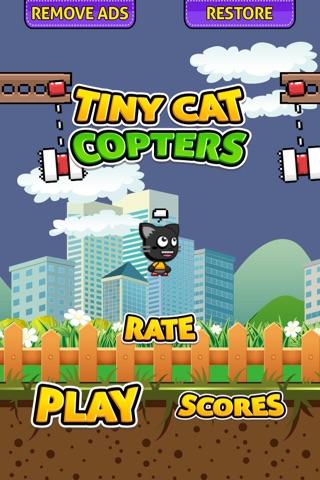 Tiny Cat Copters screenshot 1