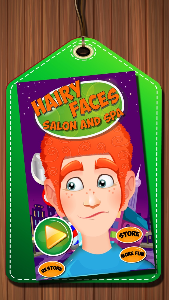 download Hairy Face Salon - Hair dresser and hair stylist salon game appstore review
