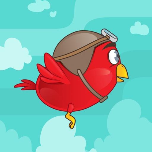 Flying Fred - Flappy Skippy Bird Jumps & Flaps iOS App