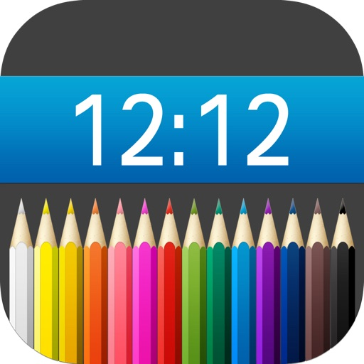 Wallpaper Editor - Colored Status Bar Backgrounds For Your Wallpaper iOS App