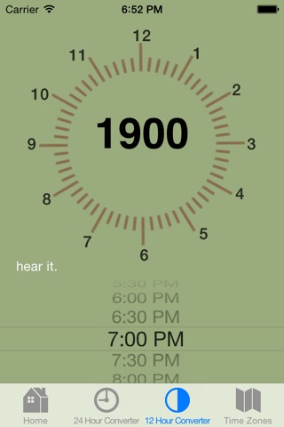 Military Time Converter screenshot 4
