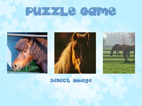 Horse Puzzles for girls: jigsaw puzzle fun with many different horses screenshot 3