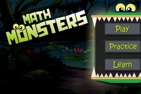 Math Monsters - Brain Game with Numbers screenshot 1