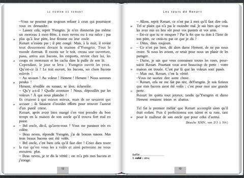 le roman de renart resume du livre