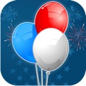 All American Chain Reaction - Independence Day Special Dot Matching and Connecting Game HD icon