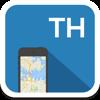 Tailandia mapa offline, guía, clima, hoteles. Libre GPS navegación.
