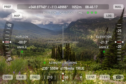 Theodolite screenshot 4