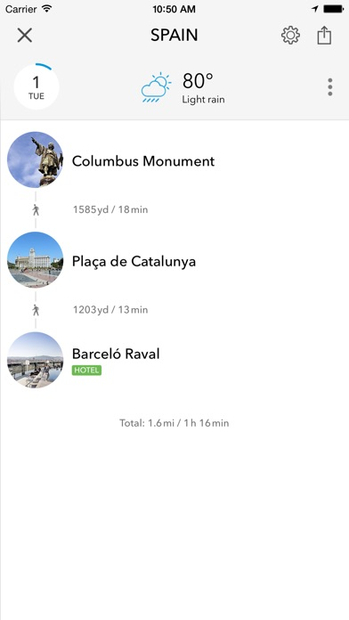 Spain Portugal Trip Planner By Tripomatic Travel Guide - Portugal map app