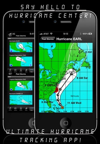 NOAA Hurricane Center screenshot 3