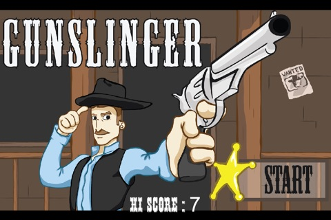 Gunslinger for iPhone screenshot 1
