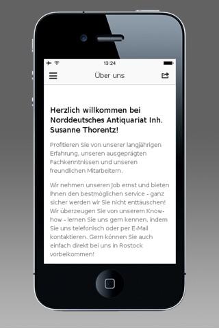 Norddeutsches Antiquariat screenshot 2