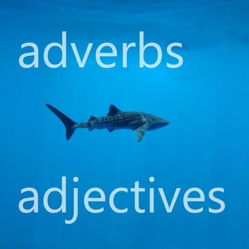Word shark - adverbs & adjectives iOS App
