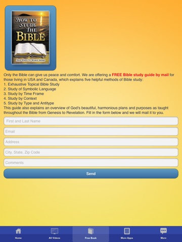 Screenshots of Christian Bible Videos and Songs - Documentary, Sermons, Free Bible Study for iPad
