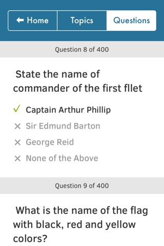 Australian Citizenship Tests screenshot 3