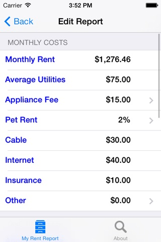 My Rent Report screenshot 3