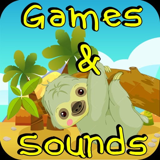 Baby Sloth Puzzles and Sounds for Little Toddlers iOS App