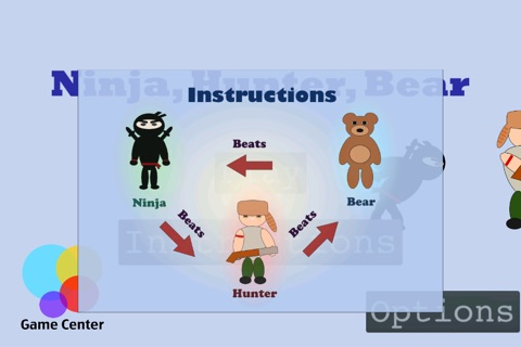 Ninja, Hunter, Bear screenshot 2
