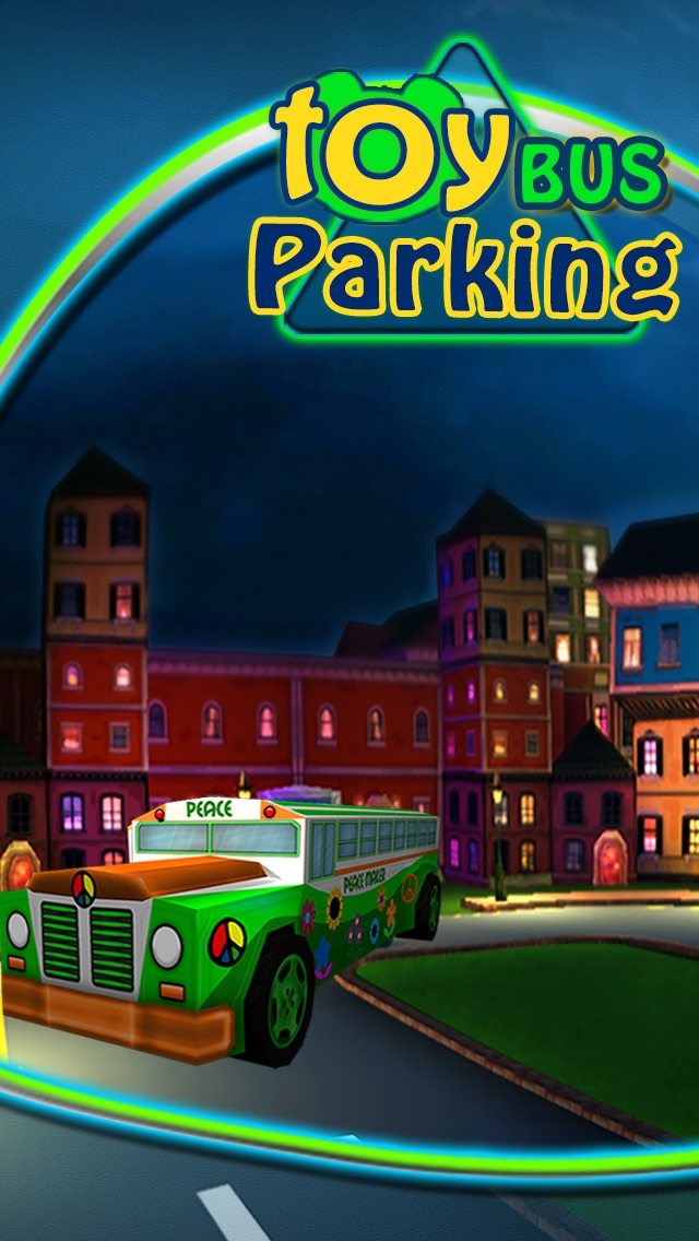 Screenshot #1 pour Kids Cars : Toy Bus Parking 3D