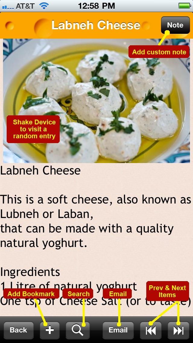 100 Homemade Cheese Recipes review screenshots