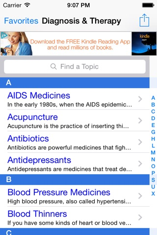 Diagnosis & Therapy: The Pro Symptom Checker & Tracker for Physical, Occupational, Speech ddx & Blood Test Guide FREE! screenshot 1