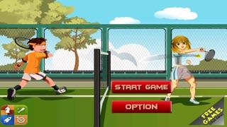 Screenshot of Un Super Topspin Tennis - Virtual Flick Spin Championship gratuita1