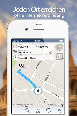 Moscow Offline Map + City Guide Navigator, Attractions and Transports screenshot 3