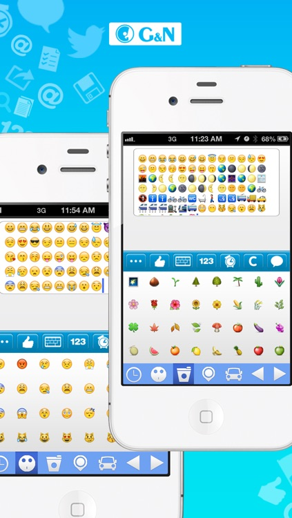 Text Emoji For Twitter Color Text Font Cool Fonts