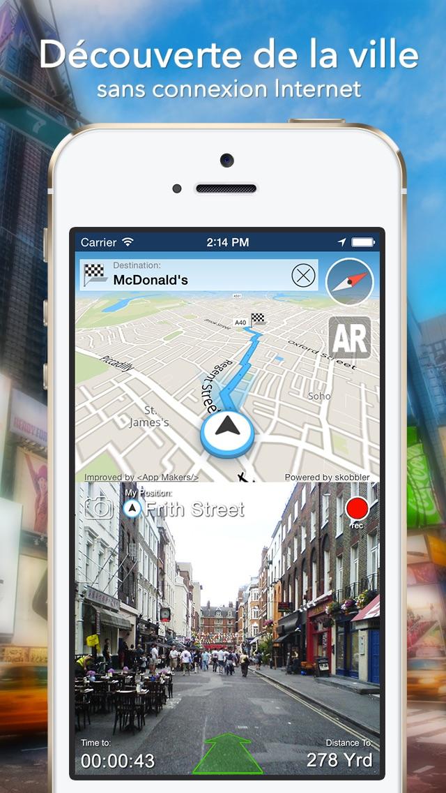 Lisbonne Offline Carte + Guide City Navigator, Attractions et TransportsCapture d'écran de 1
